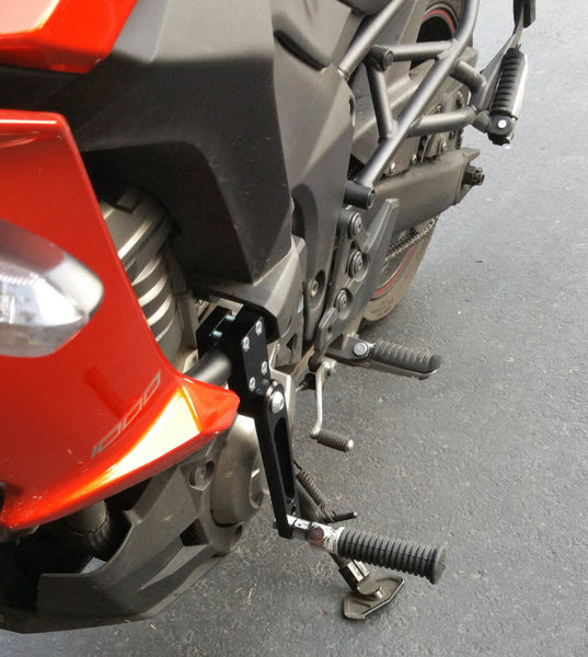 Highway Peg Mounts Versys 1000