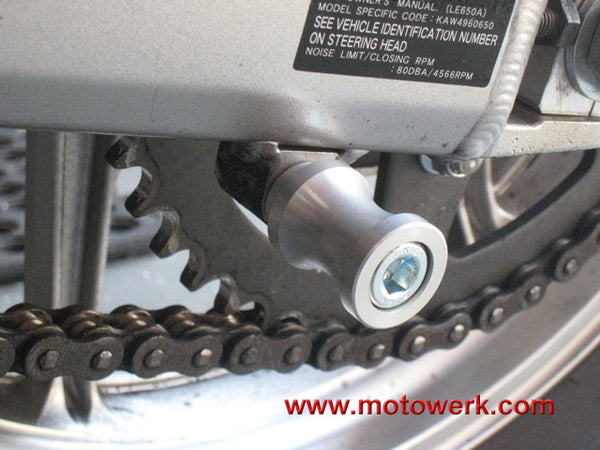 Swingarm Spools for Kawasaki 10 mm
