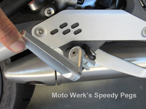 Speedy Pegs for Kawasaki