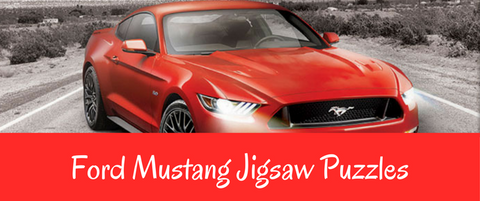 Ford Mustang Jigsaw Puzzles American Muscle Games2puzzles