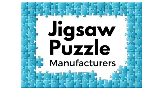 List of Jigsaw Puzzle Manufacturers