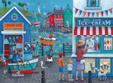Ice Cream on the Seaside - 500 Piece Jigsaw Puzzle