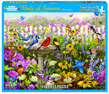 BIRDS OF SUMMER - 550 Piece Jigsaw Puzzle - Games2Puzzles