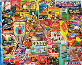 Jigsaw Puzzle Image - 550 pc Collage of Sweets