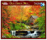 OLD GRIST MILL - 1000 Piece Jigsaw Puzzle
