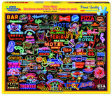 NEON SIGNS - 1000 Piece Jigsaw Puzzle