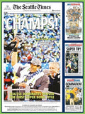 Jigsaw Puzzle Image - 550 pc Seattle Seahawks Super Bowl 2014 Champions
