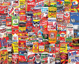 Jigsaw Puzzle Image - 1000 pc collage of food boxes