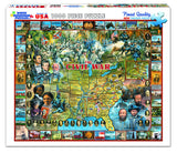 Jigsaw Puzzle Front Box Image - 1000 pc History of Civil War