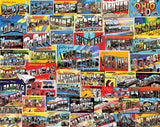 Jigsaw Puzzle Image - 1000 pc Postcards, Travel
