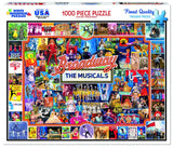 BROADWAY THE MUSICALS - 1000 Piece Jigsaw Puzzle - Games2Puzzles