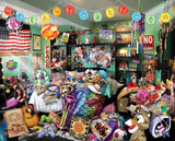 Jigsaw Puzzle Image - 1000 pc Messy Room