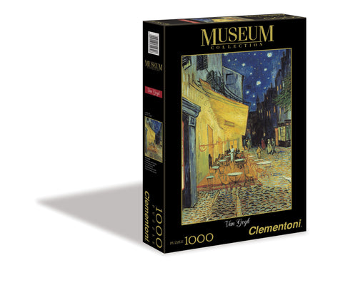Vincent Van Gogh - Cafe Terrace at Night - 1000 Piece Jigsaw Puzzle