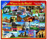 Jigsaw Puzzle Front Box Image - 1000 pc Landmarks from around the world