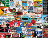 Jigsaw Puzzle Image - 1000 piece New England Attractions