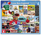 Jigsaw Puzzle Front Box Image - 1000 pc Collage of images from New England
