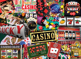 CASINO - 550 Piece Jigsaw Puzzle - Games2Puzzles