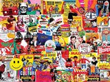Jigsaw Puzzle Image - 1000 pc collage of pop culture people, things