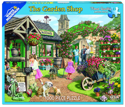 Jigsaw Puzzle Front Box Image - 1000 pc Flowers, Garden