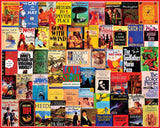 Jigsaw Puzzle Image - 300 piece Collage of Classic Books