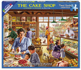 Jigsaw Puzzle Front Box Image - 1000 pc cake shop, bakery