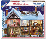 Jigsaw Puzzle Front Box Image - 1000 pc home decorated for Christmas