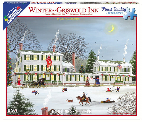 Jigsaw Puzzle Front Box Image - 1000 pc New England Historic Inn
