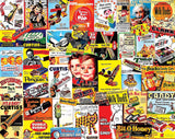 Jigsaw Puzzle Image - 1000 piece Collage of Nostalgic Candy