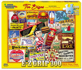 Jigsaw Puzzle Front Box Image - 300 pc vintage advertising signs