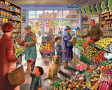 Jigsaw Puzzle Image - 1000 piece Shop with fruits, vegetables, flowers, etc.