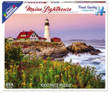 Jigsaw Puzzle Front Box Image - 1000 pc Lighthouse