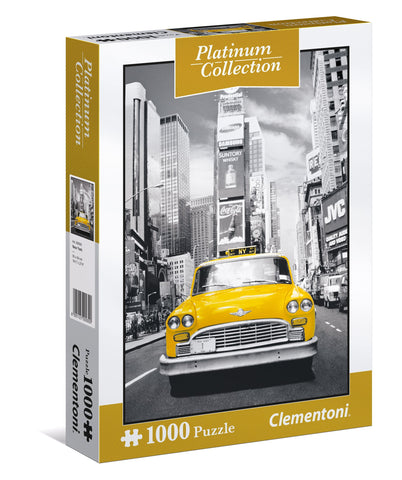 Platinum Collection - New York City Taxi - 1000 Piece Jigsaw Puzzle