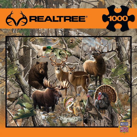 Realtree - Open Season - 1000 Piece Jigsaw Puzzle