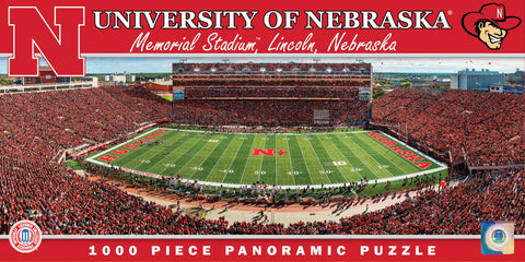 NCAA University of Nebraska - 1000 Piece Jigsaw Puzzle