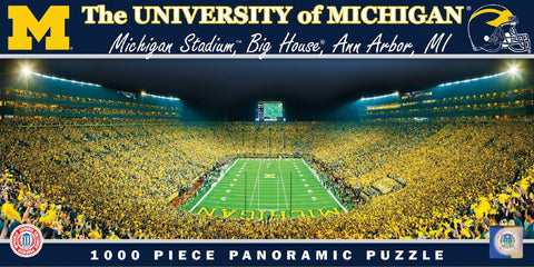 NCAA The University of Michigan - 1000 Piece Jigsaw Puzzle