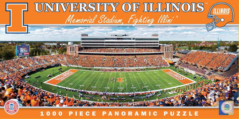 NCAA University of Illinois - 1000 Piece Jigsaw Puzzle