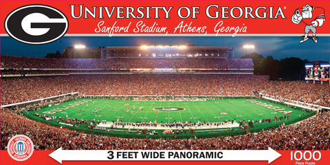 NCAA University of Georgia - 1000 Piece Jigsaw Puzzle