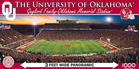 NCAA The University of Oklahoma - 1000 Piece Jigsaw Puzzle