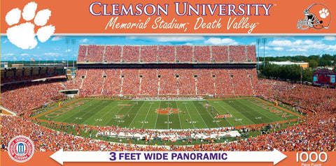NCAA Clemson University - 1000 Piece Jigsaw Puzzle