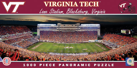 NCAA Virginia Tech - 1000 Piece Jigsaw Puzzle