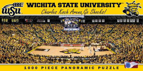 NCAA Wichita State University - 1000 Piece Jigsaw Puzzle
