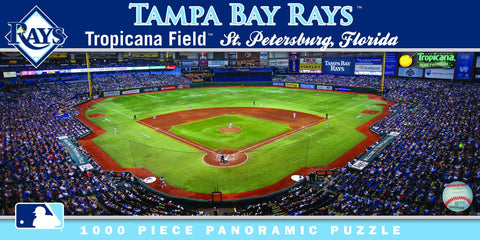 MLB Tampa Bay Rays - 1000 Piece Jigsaw Puzzle