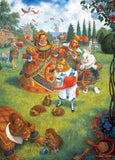 The Queen's Croquet - 1000 Piece Jigsaw Puzzle