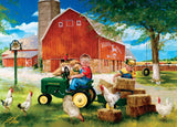John Deere - Growing Up Country - 1000 Piece Jigsaw Puzzle