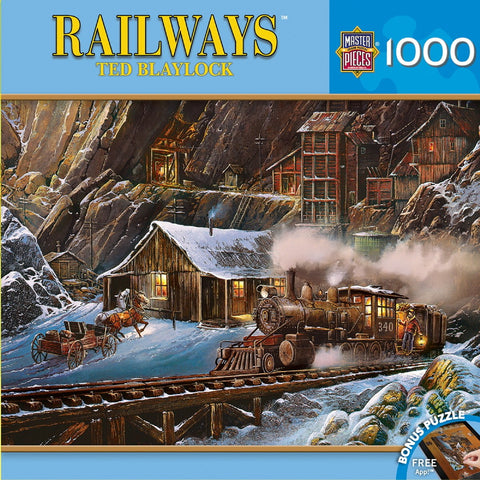 When Gold Ran the Rails - 1000 Piece Jigsaw Puzzle