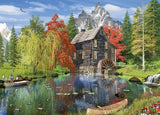 Time Away - Creekside Mill - 1000 Piece Jigsaw Puzzle