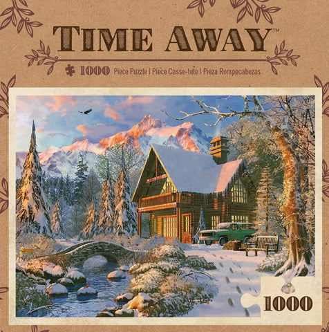 Time Away - Winter Haven - 1000 Piece Jigsaw Puzzle