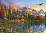 Time Away - Eagle View - 1000 Piece Jigsaw Puzzle