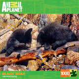 Animal Planet - Black Bear - 1000 Piece Jigsaw Puzzle - Games2Puzzles