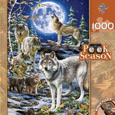 Evening Pack - 1000 Piece Jigsaw Puzzle